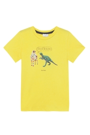 Paul Smith Junior Mustard Yellow Top - Product Mini Image