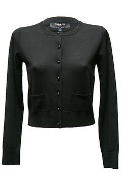 Paule Ka Black Cropped Cardigan - Product List Image
