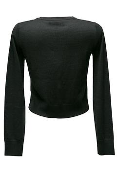 Shoptiques Product: Black Cropped Cardigan