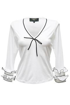 Shoptiques Product: Frill Sleeve Top