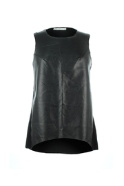 Bishop + Young Paulina Faux Leather Front Tank - Product Mini Image