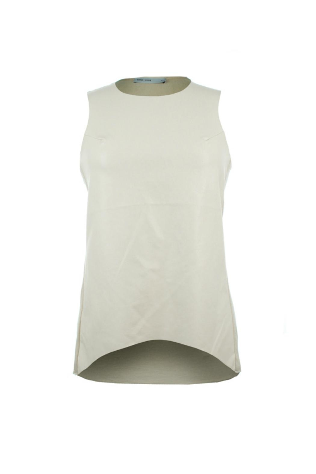 Bishop + Young Paulina Faux Leather Front Tank - Front Cropped Image