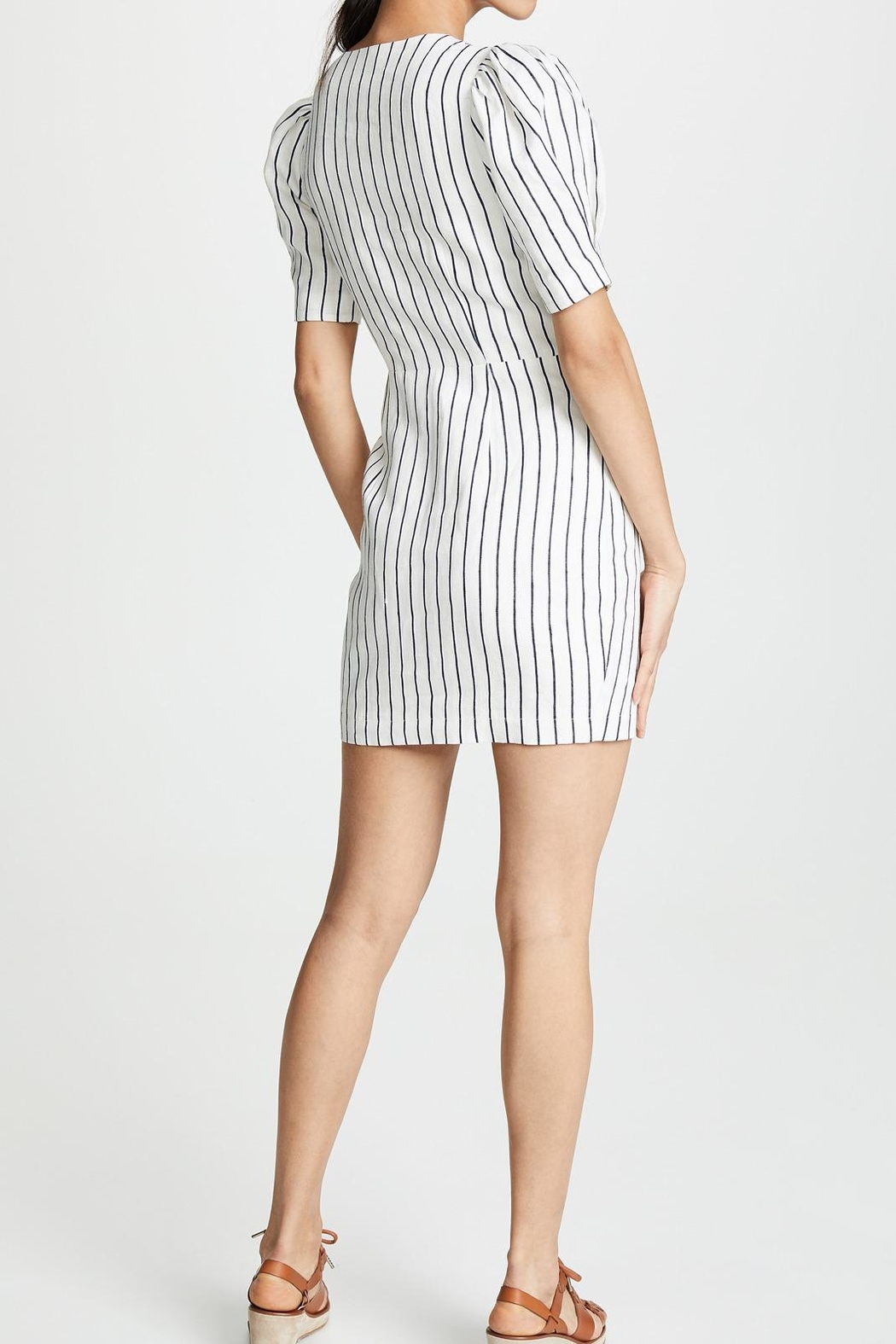 Saylor Pauline Striped Dress - Side Cropped Image