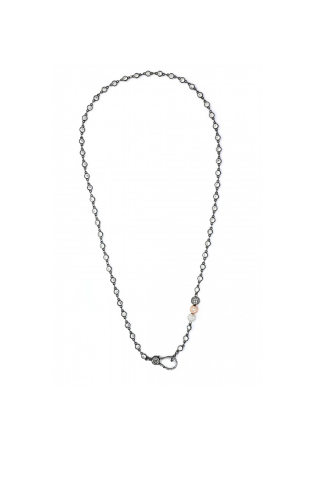 OMG Blings Pavé Chain Necklace - Main Image
