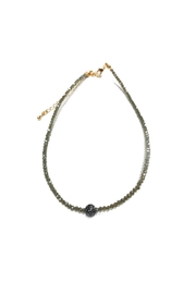 Lets Accessorize Pave Bead Choker - Product Mini Image