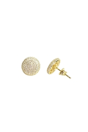 Wild Lilies Jewelry  Pave Crystal Studs - Front full body