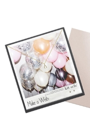 Kitsch Pave Make a Wish Necklace and Earring Set - Product Mini Image