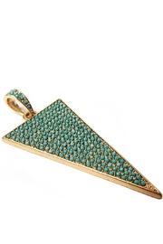 Marlyn Schiff Pave Triangle Charm - Product Mini Image