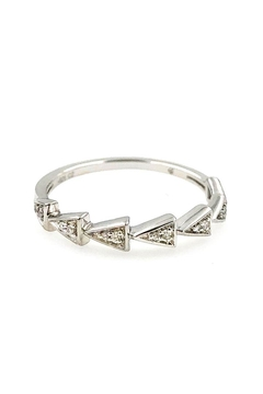 Shoptiques Product: Pave Triangle-Link Ring