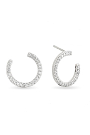 Adina Reyter Pave Wrap Hoops - Product Mini Image