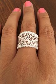 Pavel Perez Wire Woven Ring - Front full body