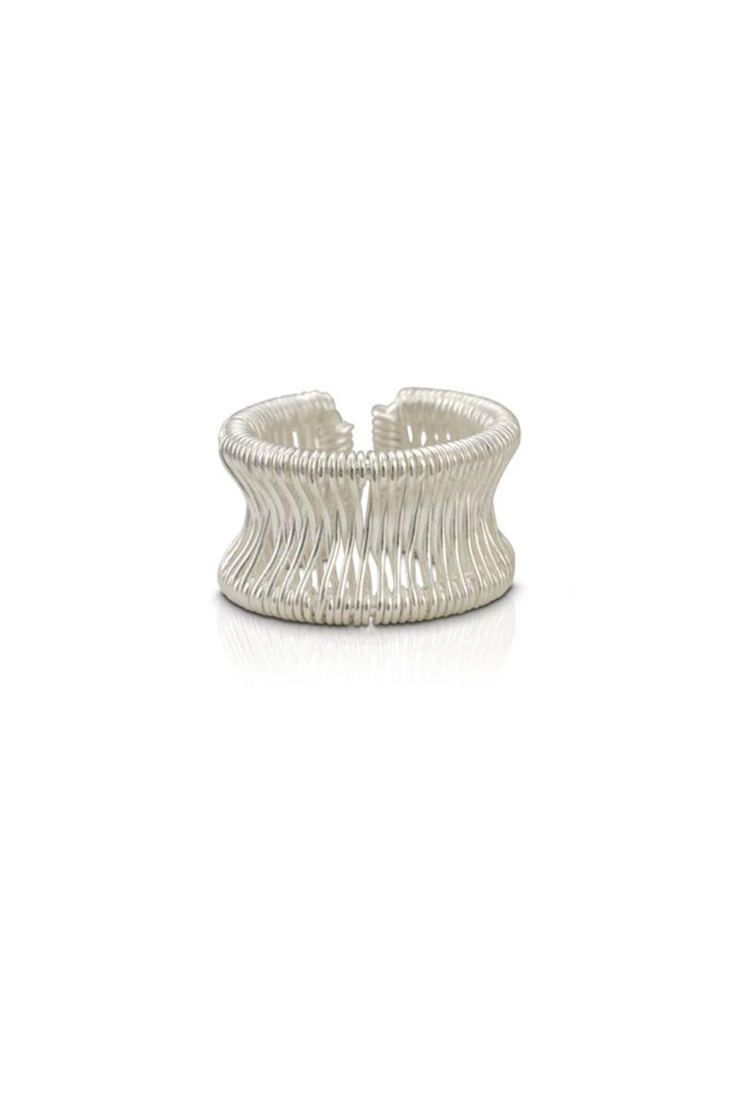 Pavel Perez Zebra Wire Ring - Front Cropped Image