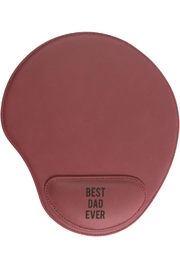 Pavilion Best-Dad-Ever Cushioned Mousepad - Front full body