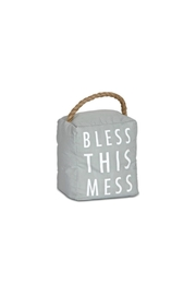 Pavilion Bless This Mess Doorstop - Product Mini Image