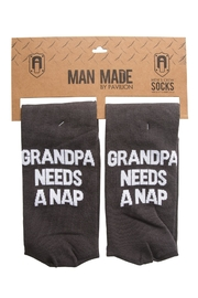 Pavilion Grandpa-Needs-A-Nap Socks - Product Mini Image