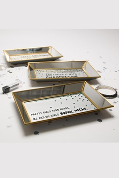 Pavilion Mirrored Jewelry/makeup Tray - Alternate List Image