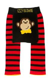 Pavilion Monkey Baby Leggins - Front full body