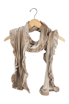 Pavilion Ruffled Velvet Scarf - Alternate List Image