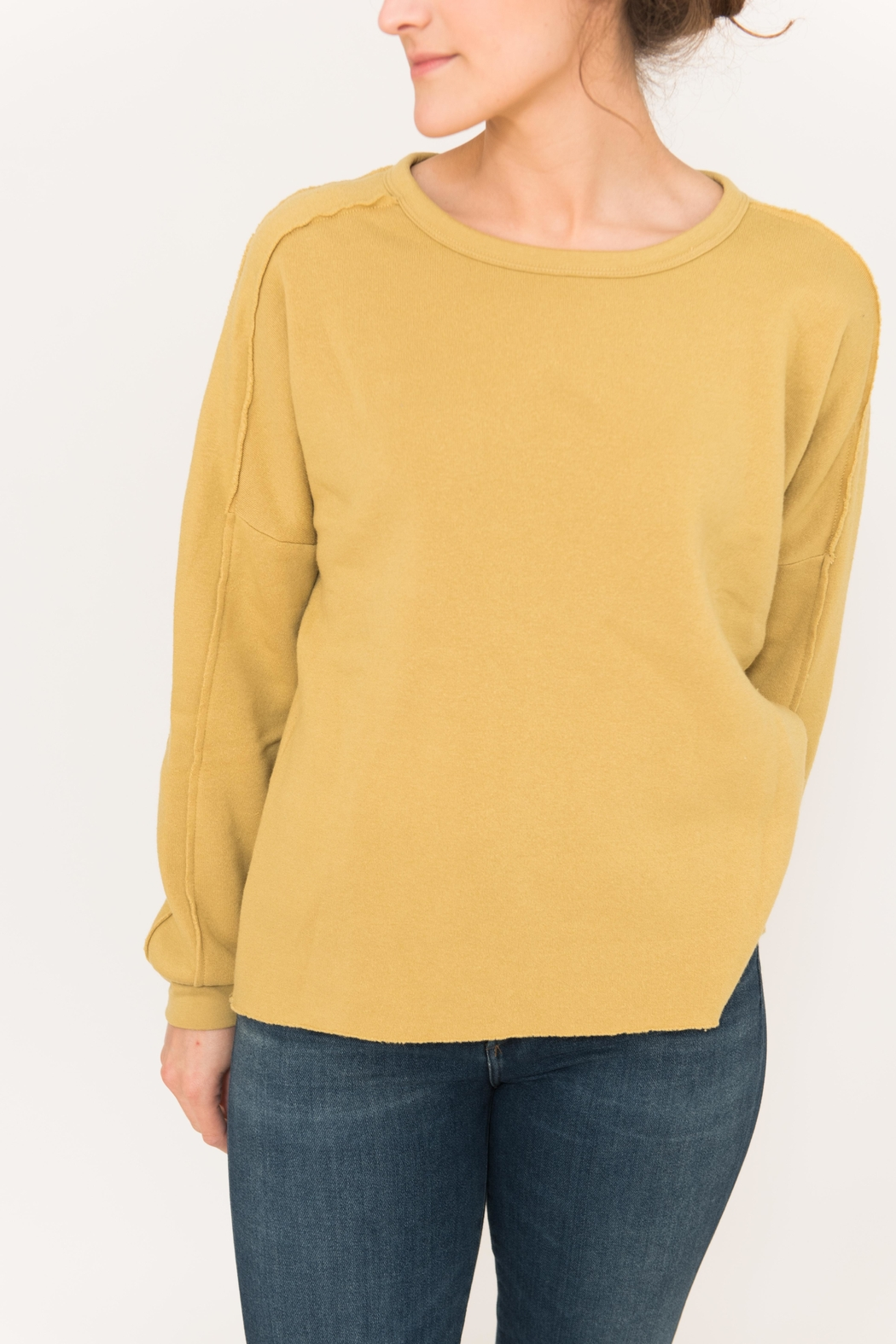 Project Social T Paw Paneled Sweatshirt - Side Cropped Image
