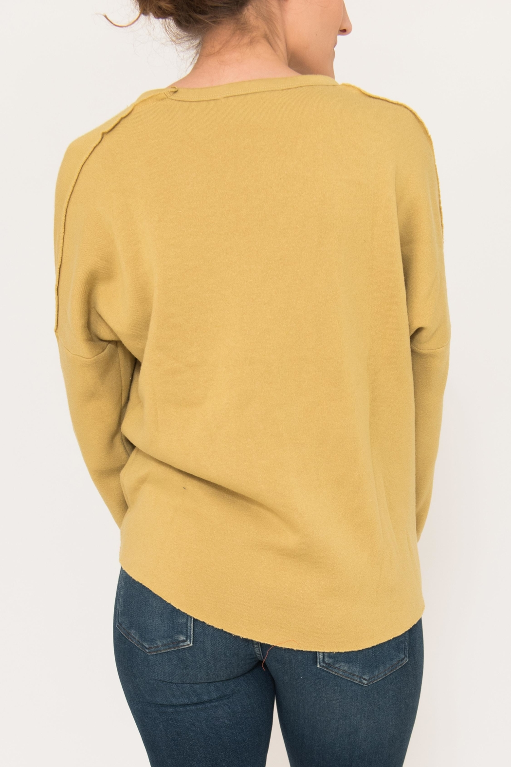 Project Social T Paw Paneled Sweatshirt - Front Full Image