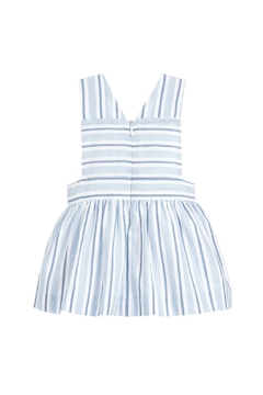Paz Rodriguez Blue Striped Pinafore. - Alternate List Image