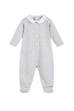 Shoptiques Product: Grey Knitted Sleepsuit.