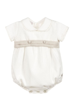 Paz Rodriguez Ivory Romper. - Product List Image