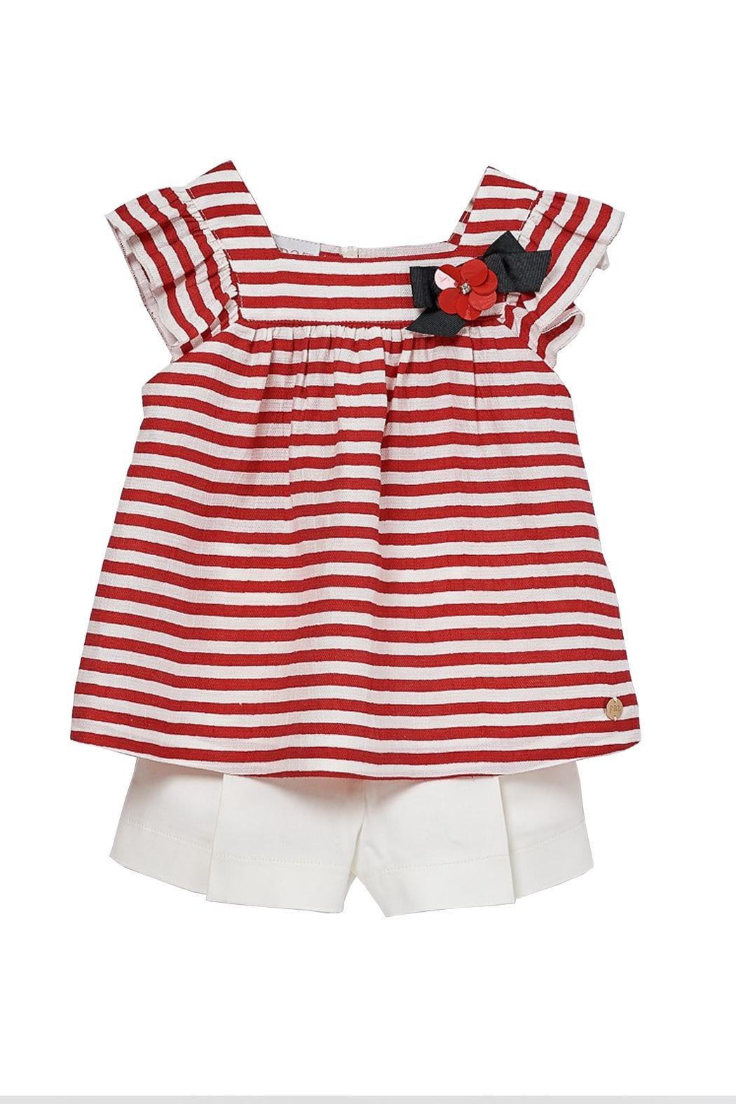 Paz Rodriguez Nautical Set. - Front Cropped Image