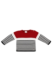 Paz Rodriguez Striped Sweater. - Product Mini Image