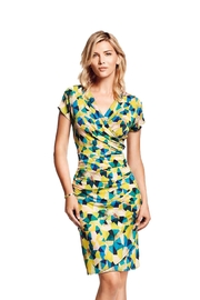 PAZ TORRAS Dress, Multucolor, Wrapped - Front cropped