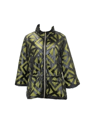 PAZ TORRAS Geometric Cutout Jacket - Product Mini Image