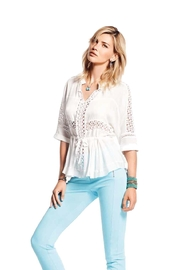 PAZ TORRAS Lace Top - Product Mini Image