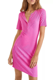 French Connection Paze Ribbed Bodycon Dress - Product Mini Image