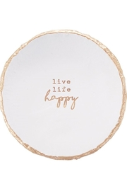 MudPie Pazitive Trinket Dish - Front cropped