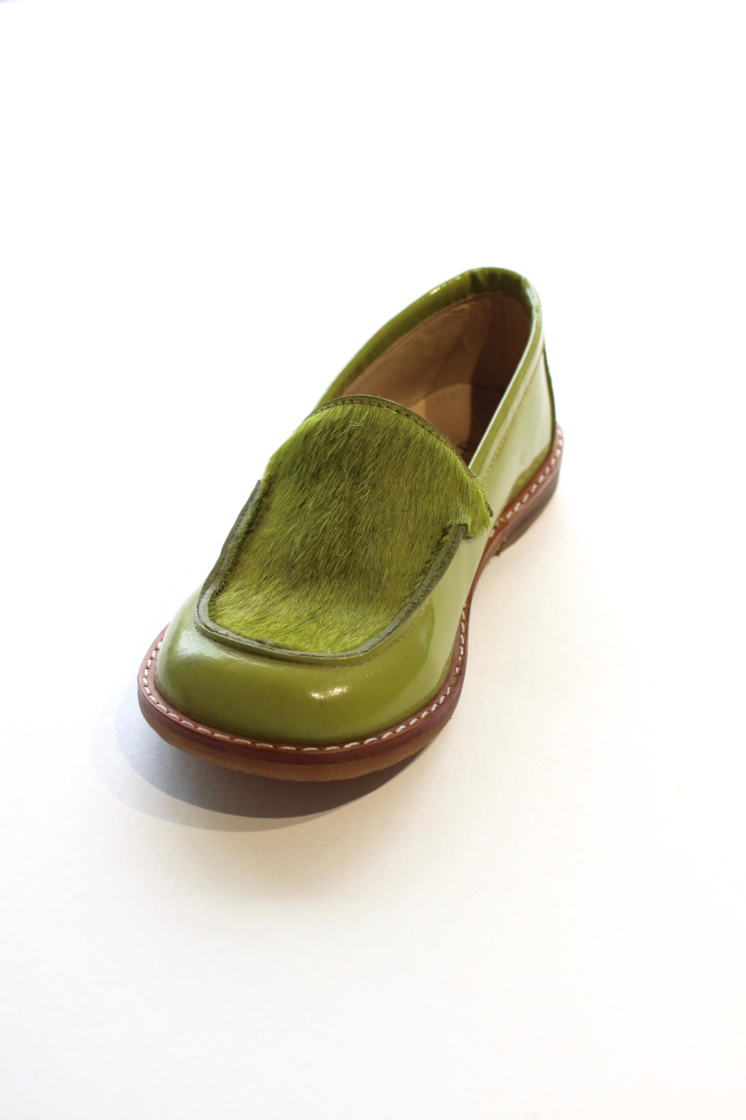 Pazitos Pony Loafers - Front Cropped Image