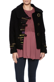 PBJ Black Button Ribbon Jacket - Product Mini Image