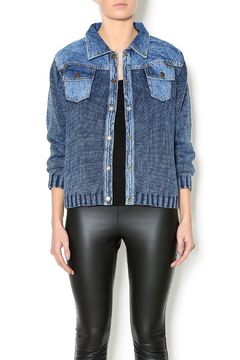 Shoptiques Product: Sweater Jean Jacket