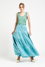 Ottod'ame Pch Maxi Skirt - Front cropped