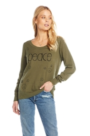 Chaser Peace Cashmere Pullover - Product Mini Image