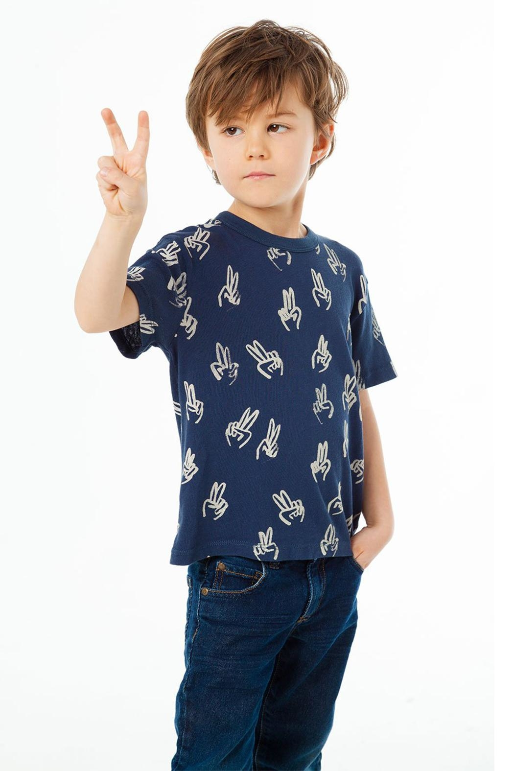 Chaser Peace Fingers Tee - Main Image