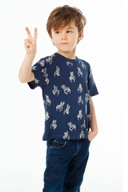 Chaser Peace Fingers Tee - Product Mini Image