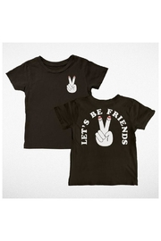 TINY WHALES Peace Friends Tee - Front cropped