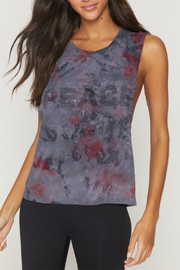 Spiritual Gangster  Peace Galaxy Active Flow Top - Front cropped