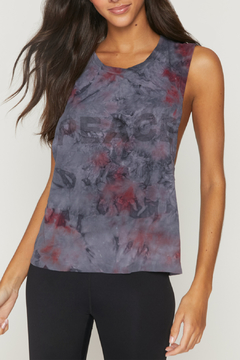 Spiritual Gangster  Peace Galaxy Active Flow Top - Product List Image