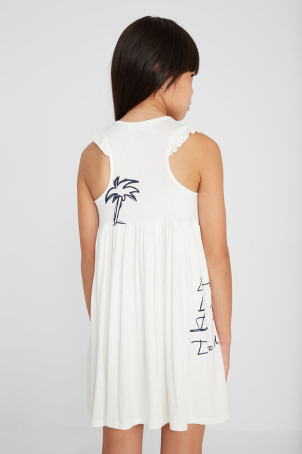 Desigual  Peace Love and Palms Dress - Front Full Image