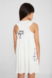 Desigual  Peace Love and Palms Dress - Front full body