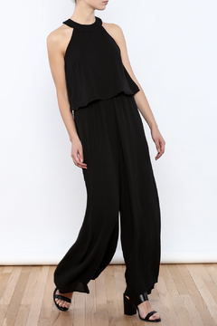 Shoptiques Product: Collar Overlay Jumpsuit