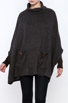 Peace Love California Knit Poncho - Product List Image
