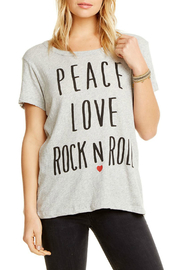 Chaser Peace Love Rock N Roll Tee - Product Mini Image
