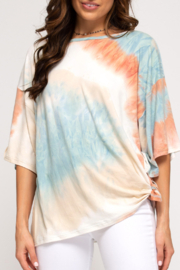 She and Sky Peace, Love, & Summer top - Product Mini Image